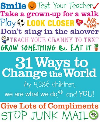 31 Ways to Change the World By Taylor, Tanis